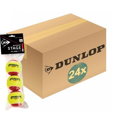 Tenis / Loptičky / DUNLOP STAGE 3 box of 24 (3 balls)