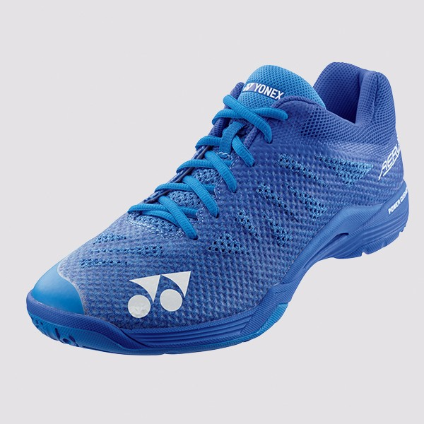 Bedminton / Obuv / BEDMINTONOVÁ OBUV POWER CUSHION AERUS 3 MEN BLUE