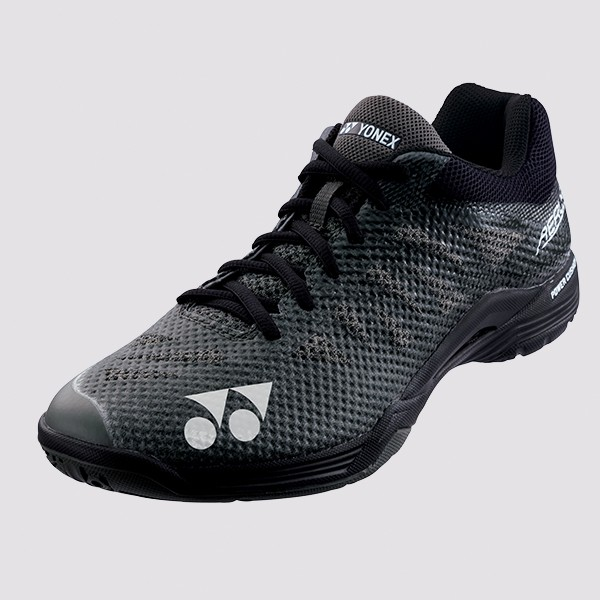 Bedminton / Obuv / BEDMINTONOVÁ OBUV POWER CUSHION AERUS 3 MEN BLACK