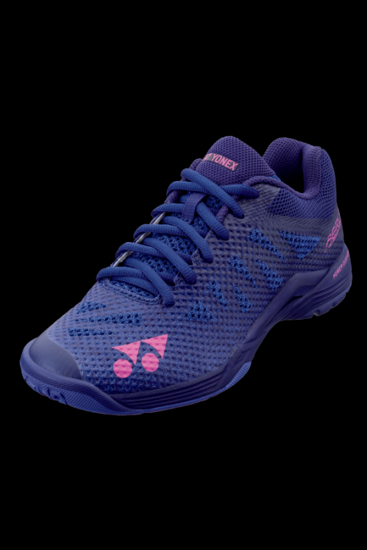 Bedminton / Obuv / BEDMINTONOVÁ OBUV POWER CUSHION AERUS 3 WOMEN NAVY