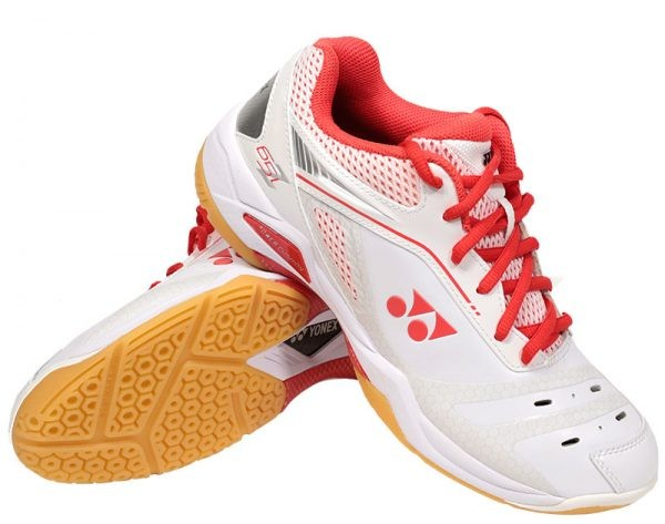 Bedminton / Obuv / BEDMINTONOVÁ OBUV POWER CUSHION 65 Z LADIES WHITE/